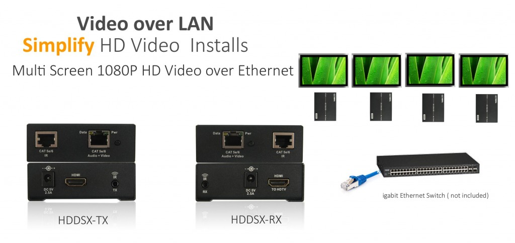 Octava Introduces Audio Video over IP Extender Solution - Video Over