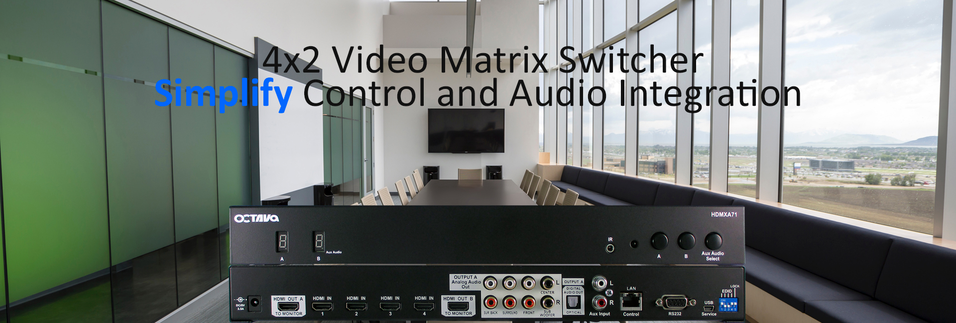 HDMI Video Matrix Switch-hdmxa71-banner