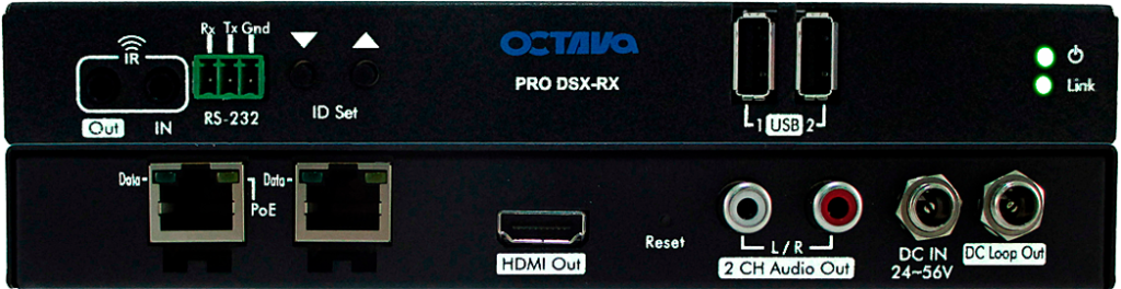 Video Over IP-PRO DSX Receiver
