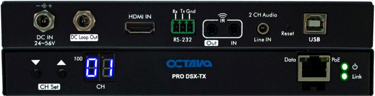 Video Over IP-PRO DSX Transmitter