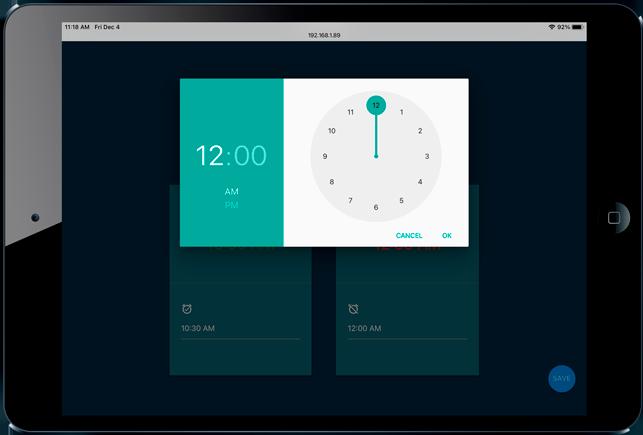 hdlan app timer