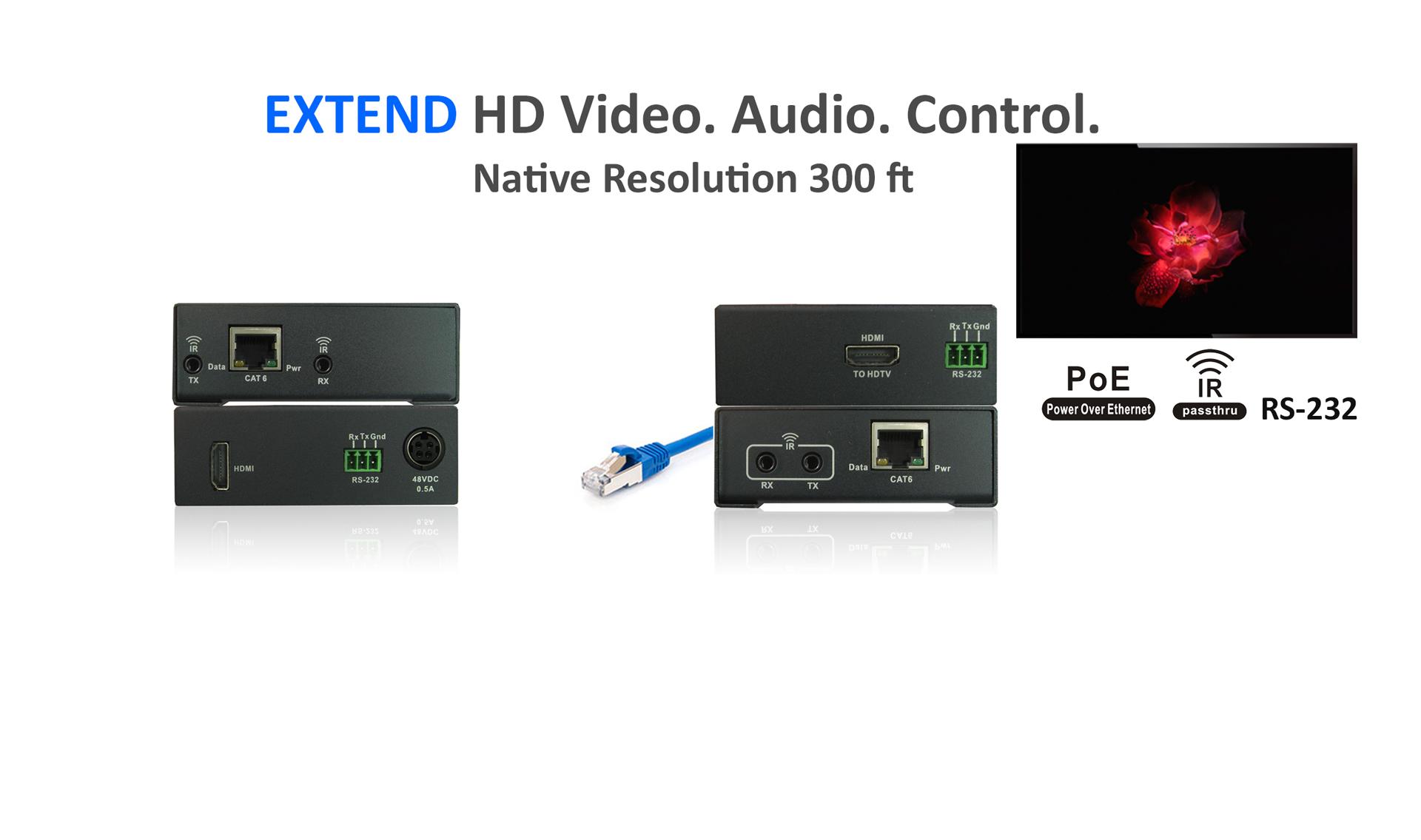 HDMI Extender-HD100STP