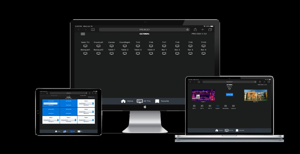 Embedded Octava Web Control Server