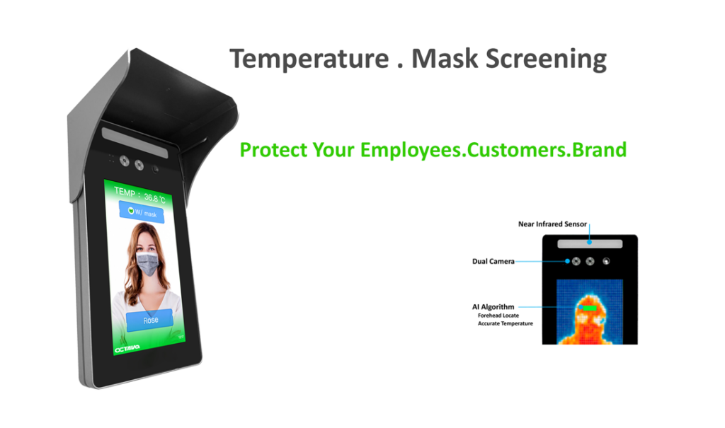 Temperture Mask Screening Terminal